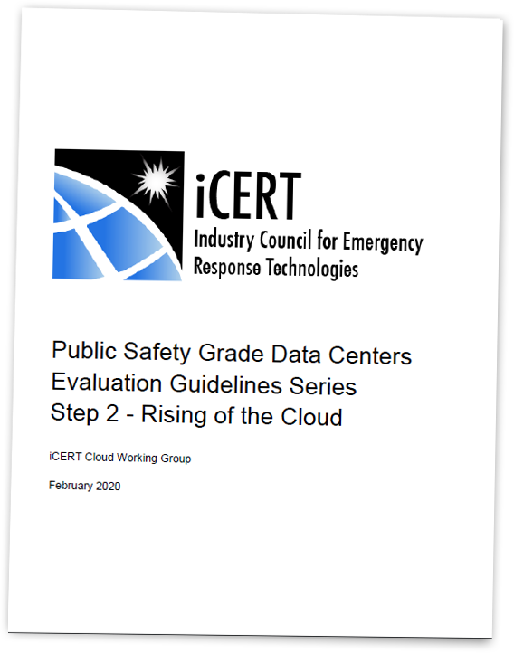 Evaluating Cloud Data Centers for Public Safety, Part 2: Rising of the Cloud